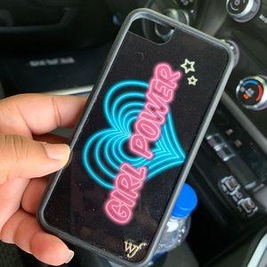 Wildflower Girl Power iPhone 6/7/8 Case